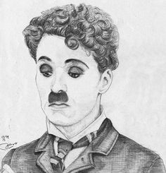 Charlie Chaplin in The Pawnshop Charlie Chaplin, Alfred Hitchcock, Art Inspo, Movie Tv, Drawings, Sketch, Sketch Drawing, Sketches, Sketches