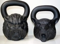 Wolf and Lion Kettlebell Package