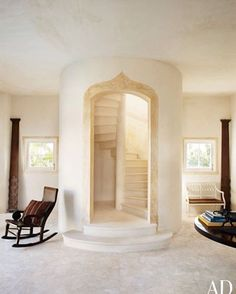 Stairs, Oberto Gili for Architectural Digest