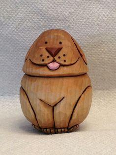 Basswood egg dog