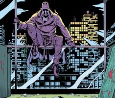 """rockofeternity: """"Watchmen Art by Dave Gibbons & John Higgins Story by Alan Moore """" Dave Gibbons, Best Comic Books, Comic Books Art, Book Art, Dc Comics Art, Fun Comics, Alan Moore Comics, Watchmen Rorschach, Watchmen Tv"""