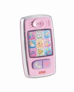 Fisher-Price Laugh and Learn Smilin Smart Phone, Pink *** Details can be found by clicking on the image.