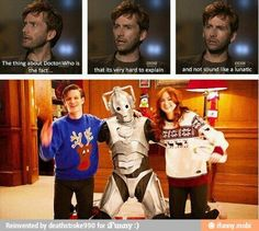 Ah! Doctor Who, this is the truth behind it