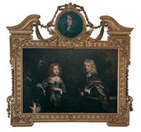 The Chesterfield portrait Portrait of two boys - Philip Stanhope, 2nd Earl of Chesterfield and his brother Charles, Baron Wotton by Sir Peter Lely