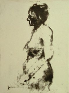 Great blog post - Embellished Skeleton: Narrative Figure Drawing. (Image - Robert D'Arista, monotype)