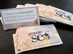 Wizytówki GranateSEO :)