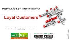 Get 100% Viewership with MyCityApp..!! #branding #business #onlinemarketing #localpromotions #loyalty #localbusiness #citybusiness #catalog #onlinecatalog #advertisment #postad #currentoffersanddeals . . . . Android :- http://bit.do/mycityAppG Apple Store :- http://bit.do/mycityApp