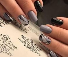 Natural Acrylic Black Almond & Square Nail Designs for Short Nails - Be . - Natural Acrylic Black Almond & Square Nail Designs for Short Nails – Be … – - Nail Art Diy, Diy Nails, Cute Nails, Nail Art Ideas, Shellac Nails, Fancy Nail Art, Gel Manicure, Acrylic Nail Designs, Nail Art Designs