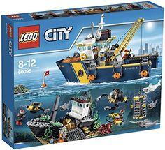 Lego City - 60095 - Jeu De Construction - Le Bateau D'exploration LEGO
