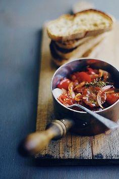 Homemade bruschetta  via Beauty+Boheme YUMMMMMMMMMMMMMMMM...........