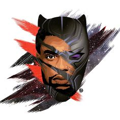 Drawing Superhero Black Panther Canvas Marvel Print T-Shirt Souvenirs Accessories Avengers Super hero Marvel Art, Marvel Heroes, Marvel Avengers, Black Panther Art, Black Panther Marvel, Marvel Characters, Marvel Movies, Siper Man, Black Panther Chadwick Boseman
