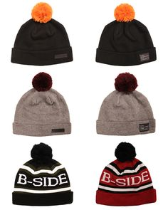 B-side bobble hats £25