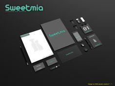 Desarrollo Imagen Institucional Sweetmia.  #brand #design