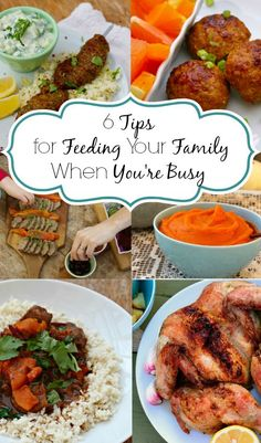 How to Feed Your Family Well When You're BUSY! | And Here We Are - With school about to start again, balancing a couple of jobs now, and the need for more routine to make it all easier, I thought I'd put together my best tips and recipes for feeding your family well even during the busiest seasons.