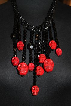 skull necklace..rock passion