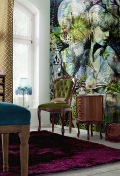 Brewster Home Fashions Komar Aphrodites Garden Wall Mural | Wayfair