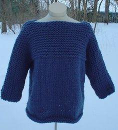 Free Knitting Pattern - Women's Sweaters: Kelly Sweater
