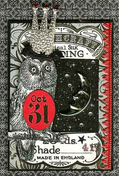 Owl ATC - i freaking LOVE THIS