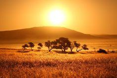 Afrika Landschaft im Afrika Reiseführer http://www.abenteurer.net/afrika-reisefuehrer/