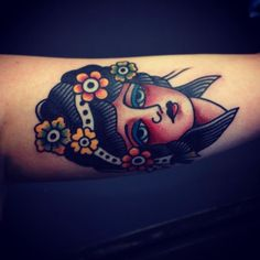 Mark Cross  Follow my #traditional #tattoos board!  www.eff-style.com