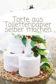 Torte Aus Toilettenpapier Selber Machen Calistas Traum Toilettenpapiertorte Toilettenpapier Klopapiertorte