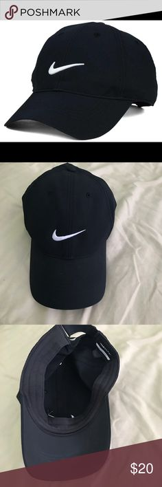 7fe70727 Nike black hat Nike hat in awesome condition. Golf legacy 91 Tech cap Nike  Accessories
