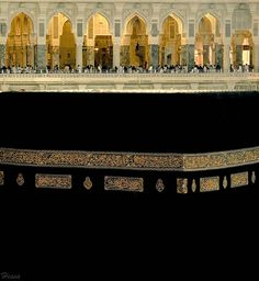 islamic-art-and-quotes: The Ka`ba and al-Masjid al-Haram Second Floor (Makkah, Saudi Arabia) Originally found on: ezz-hakami Islamic Architecture, Art And Architecture, Mecca Madinah, Mecca Masjid, Arabesque, Masjid Al Haram, Mekkah, Beautiful Mosques, Saudi Arabia