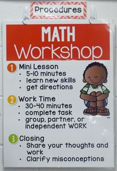 I always introduce math workshop be first teaching procedures that will benefit us all year long!