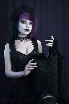 Model-Photo-Makeup :Darya Goncharova.