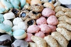 Italian Wedding Cookies are light and fluffy round cookie balls coated in white and flavored with Anise. For any of you who are not familiar with this traditional Italian flavoring, Anise is like licorice