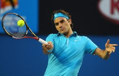 1st round match for Federer at AU Open 2015 where he defeated Lu in straight sets
