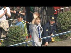 羽生選手、仙台でパレード 「感動ありがとう」と声援 - YouTube