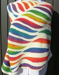 Ravelry: Flame Shawl pattern by Regina Schoenfeldt