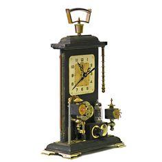 Steampunk Shelf Clock Type II | Klockwerks