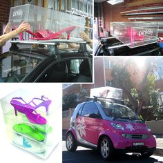 4b66193dbf Vehicle Branding for Pink Lily s acrylic shoe box product