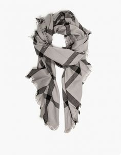 Need Supply Co. oversize plaid scarf