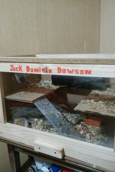 Casita hamster, 2 pisos. DV