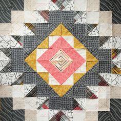 Likeflowersandbutterflies: Rooted quilt block