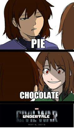 Hmmm.......How about chocolate pie it sound good