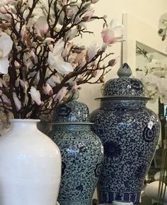 Great collection of large urns and vases at http://gautierlifestyle.com