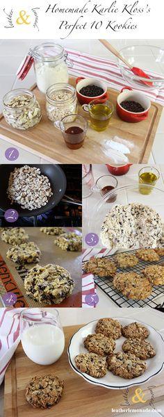low sugar / healthier cookies!