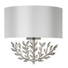 Heathfield+& Bring+nature+indoors+with+the+Leaf+Sconce+Nickel+Wall+Light. Each+wall+light+has+a+classic+sculptural+leaf+like+structure+created+from+cast+aluminium+and+in+a+luxury+nickel+finish. Interior Design Gifts, Shades, Wall Lights, Lamp, Lamp Shade, Lighting, Bulb, Wall Sconces, Luxury Interior Design