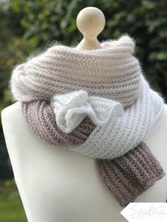 Ein Schal in Patentmuster ist zeitlos, klassisch und einfach gestrickt. Wie das geht zeig ich Euch im aktuellen Blogbeitrag.