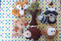 Woodland Wonders choose your colors Original baby by lollipopmoon, $78.00