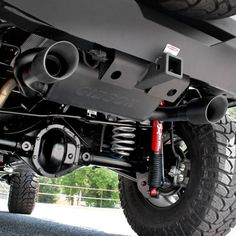 Gibson Performance FORTEC® Exclusive Cat Black Dual Exhaust System for 07-up Jeep® Wrangler JK 2- & 4-Door with 3.8L & 3.6L V6 Engine
