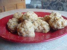 Gluten free sausage scones