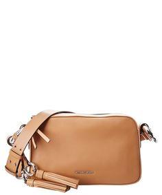 MICHAEL MICHAEL KORS Michael Michael Kors Grand Medium Leather Shoulder Bag'. #michaelmichaelkors #bags #shoulder bags #leather #
