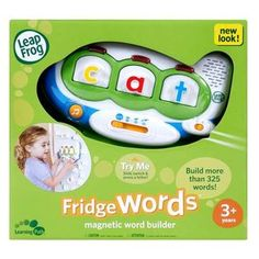 LeapFrog Fridge Word Magnetic Word Builder