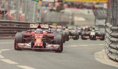 Formula 1 - Fernando Alonso - Ferrari - GP Monaco Montecarlo 2014 - daniphotodesign.com
