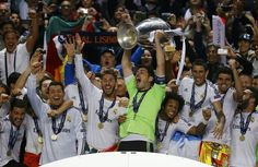 Real Madrid - Winners of the 2014 Champions League, with an AET of 4-1 against Atletico Madrid